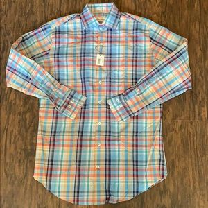 Peter Millar New Shirt LS Size M
